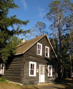 Oneida was originally a logger cabin, and now serves as the TP Museum.