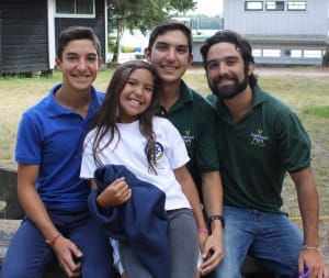 Eduardo's entire family @ camp 2013!