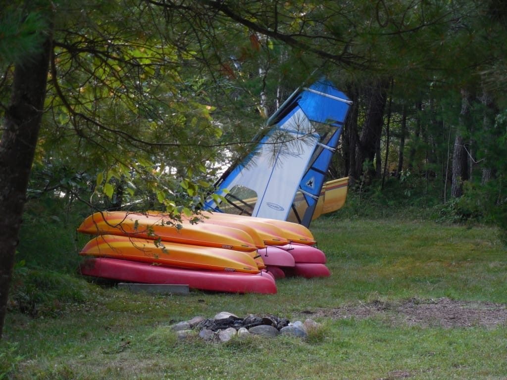 TP also has kayaks and sailboards.