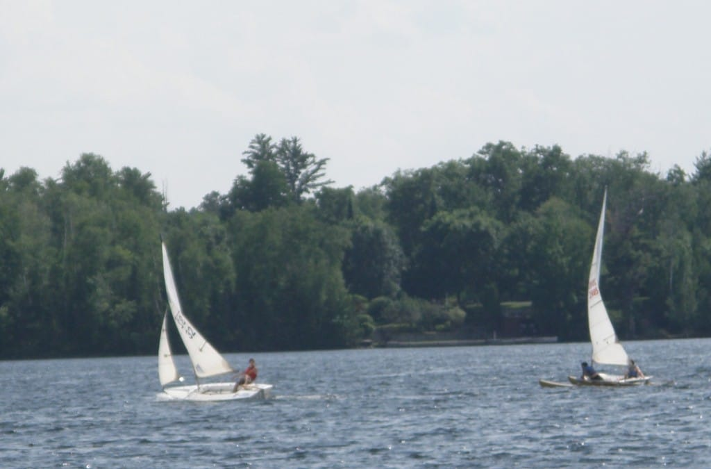 Sail Race on Lake Nokomis