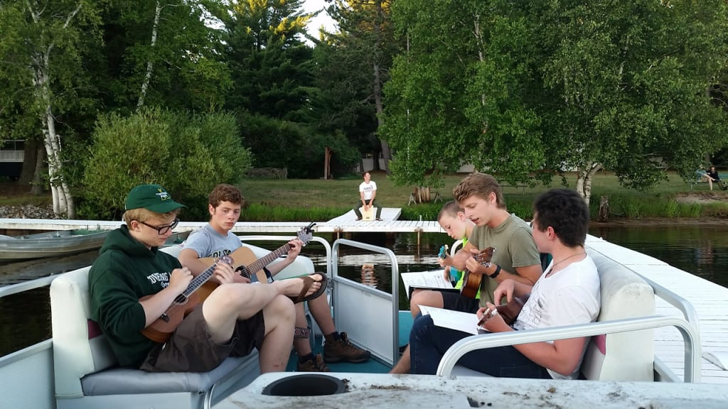 Music on Pontoon boat