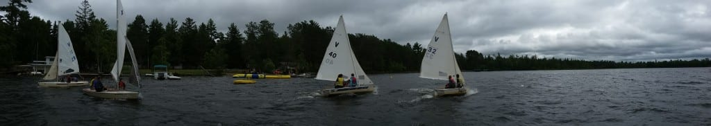 For a real challenge, try a sailing regatta!